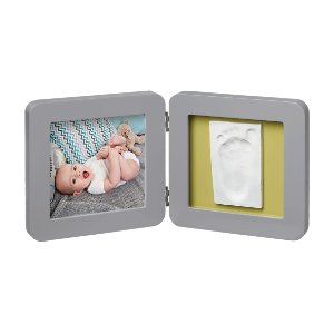 My Baby Touch Porta-Retrato Cinza 1p - Baby Art