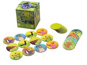 Jogo de Memória Floresta Amazônica 30 peças - Araquarela