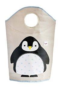 Cesto de Roupa Pinguim - 3 Sprouts
