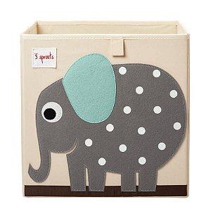 Organizador Quadrado Elefante - 3 Sprouts