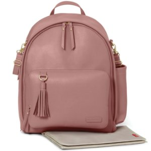 Bolsa Maternidade Greenwich Simply Chic BackPack  Dusty Rose - Skip Hop