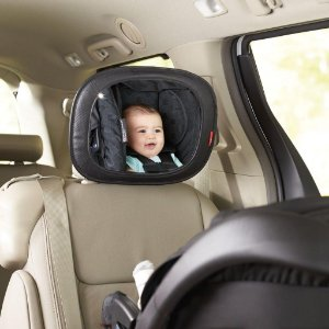 Espelho Interno Convexo p/ Carro - Mirror Chevron - Skip Hop