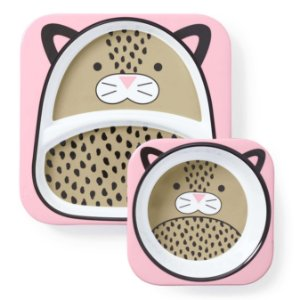 Set de Pratos Zoo Leopardo - Skip Hop