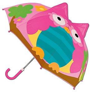 Guarda-Chuva Infantil 3D Coruja - Stephen Joseph