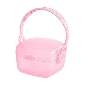 Porta Chupeta Rosa - Girotondo Baby