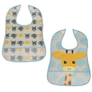 Kit 2 Babadores Infantil Girafa- Girotondo Baby