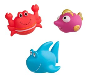 Brinquedo de Banho Amigos da Praia - Girotondo Baby