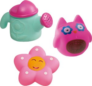 Brinquedo de Banho 3 Jardins Floridos - Girotondo Baby
