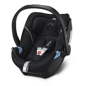 Bebê Conforto Aton 5 Lavastone Black - Cybex