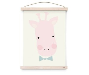 Quadro Decorativo Miss Girafe - Eef