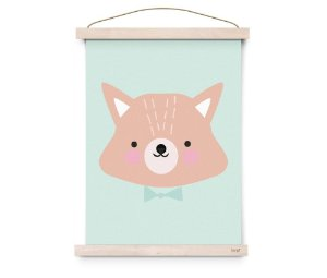 Quadro Decorativo Mr.Fox - Eef