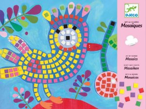 Colagem com Mosaicos Pássaro e Joaninha - Djeco
