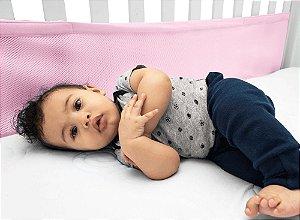 Protetor de Berço Air Baby Rosa - Kababy