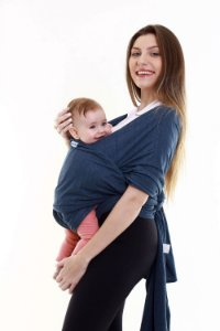 Sling Wrap Cinza Jeans - Kababy