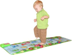 Tapete Musical Educativo para Andar - Jolly Jumper
