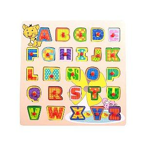 Encaixe e Brinque Letras - Dican