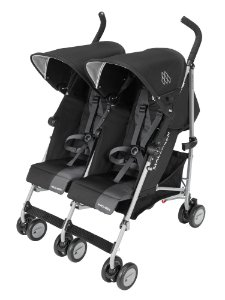 Carrinho para Gêmeos Twin Triumph Black Charcoal - Maclaren