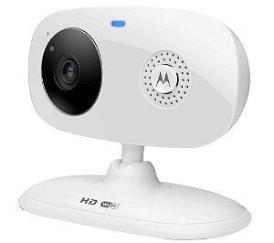 Câmera de vídeo Wi-Fi  FOCUS66 c/ visão noturna via smartphone - Motorola