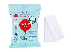 Assoar Baby Lenços Umedecidos com solução Salina - LikLuc
