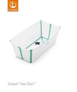 Banheira Dobrável Flexi Bath Verde - Stokke