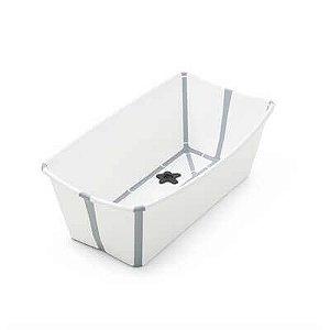 Banheira Dobrável Flexi Bath Branca- Stokke