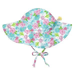 Chapéu de Banho Infantil Acqua Flores FPS 50+ - IPlay