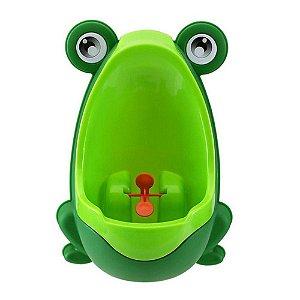 Mictório Infantil Sapinho Verde - Clingo