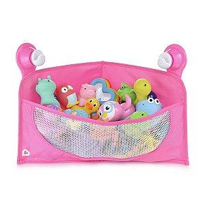 Cesta Organizadora de Brinquedos de Banho Rosa - Munchkin