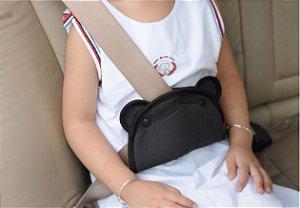 Posicionador para Cinto de Segurança Safety - 1st Preto
