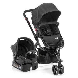 Carrinho de Bebê Travel System Mobi Full Black -  Safety 1st