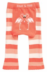 Meia Calça Legging Infantil Flamingo - Blade and Rose