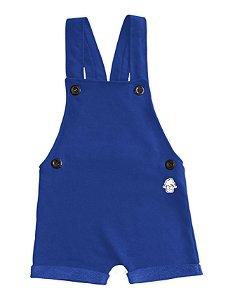 Jardineira Azul - Baby Beh
