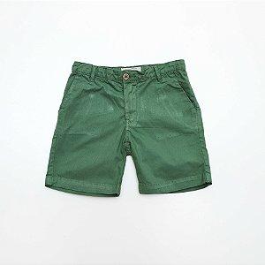 Bermuda de Sarja Kids Verde - Dudes