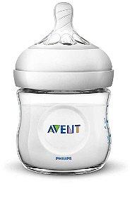Mamadeira 125 ml PÉTALA Transparente - Philips Avent