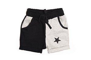 Short  Infantil Gray (M - 6-9 meses) - Pistol Star