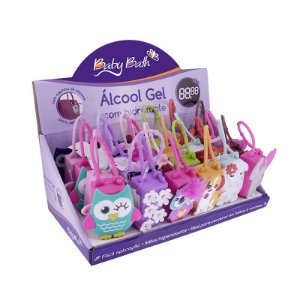 Alcool Gel com Holder 30 ml (unidade) - Baby Bath