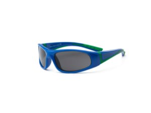 Óculos de Sol Bolt Azul e Verde - Real Shades