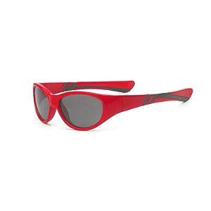 Óculos de Sol Discover Vermelho e Preto - Real Shades