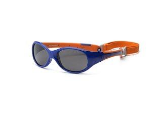 Óculos de Sol Explorer Azul e Laranja - Real Shades