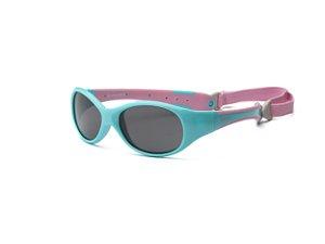 Óculos de Sol Explorer Azul e Rosa - Real Shades