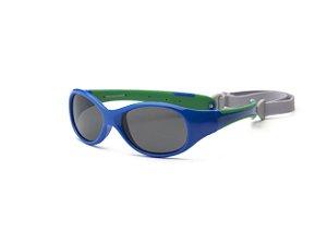 Óculos de Sol Explorer Azul e Verde - Real Shades