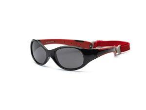Óculos de Sol Explorer Preto e Vermelho - Real Shades