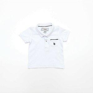 Camisa Polo Baby Branca - Dudes
