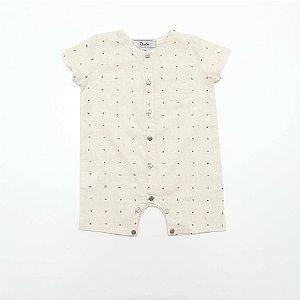 Body Infantil em Linho - Dudes
