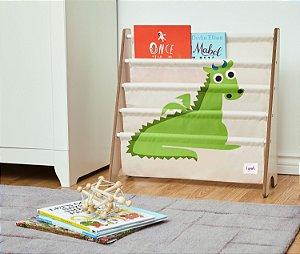 Rack para Livros Dragão - 3 Sprouts