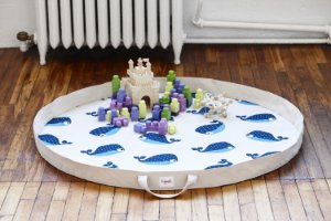 Tapete de Atividades (Play Mat) Baleia - 3 Sprouts