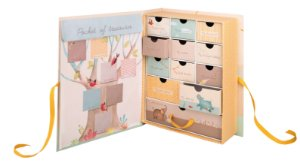 """Caixa Tesouros do Bebê """"Le Papoum Savana Elefante """"- Moulin Roty"""