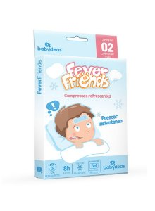 Fever Friends - Compressas Refrescantes - Babydeas