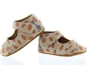 Sapato Infantil Charles IX Beige Sophie La Girafe - Vulli