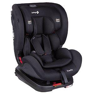 Cadeirinha Everfix Full Black - Safety 1st